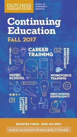Continuing Ed Brochure Cover Fall 2017