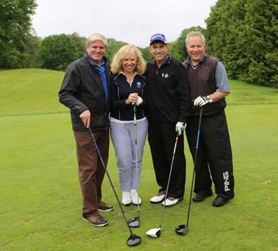 Winning Foursome, Golf Tournament 2015