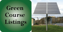 Green Course Listings