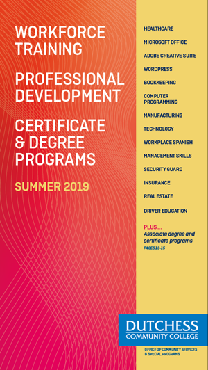 Continuing Ed Brochure Cover Summer 2019