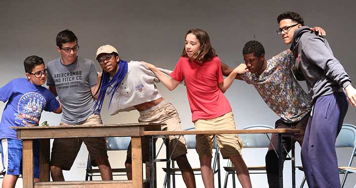 Teen acting camp at colleges