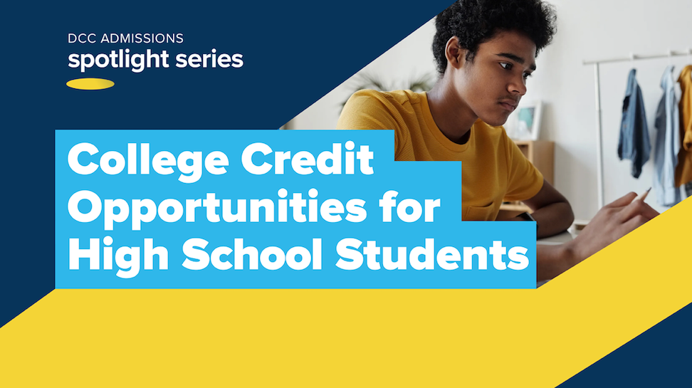 High school students / college credit image