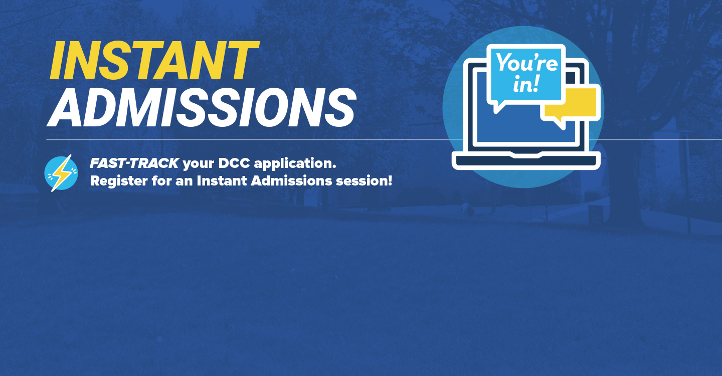 instant admissions graphic