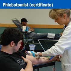 Phlebotomist certificate
